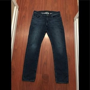 3/20$ guess rocker slim tapered jeans men's 34x34